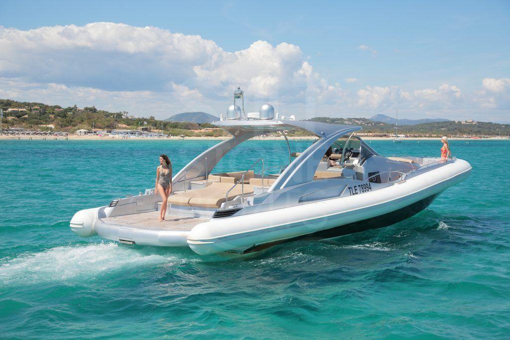 Isola Superyacht Tender 63 Cabin Rib Saltstone Boats