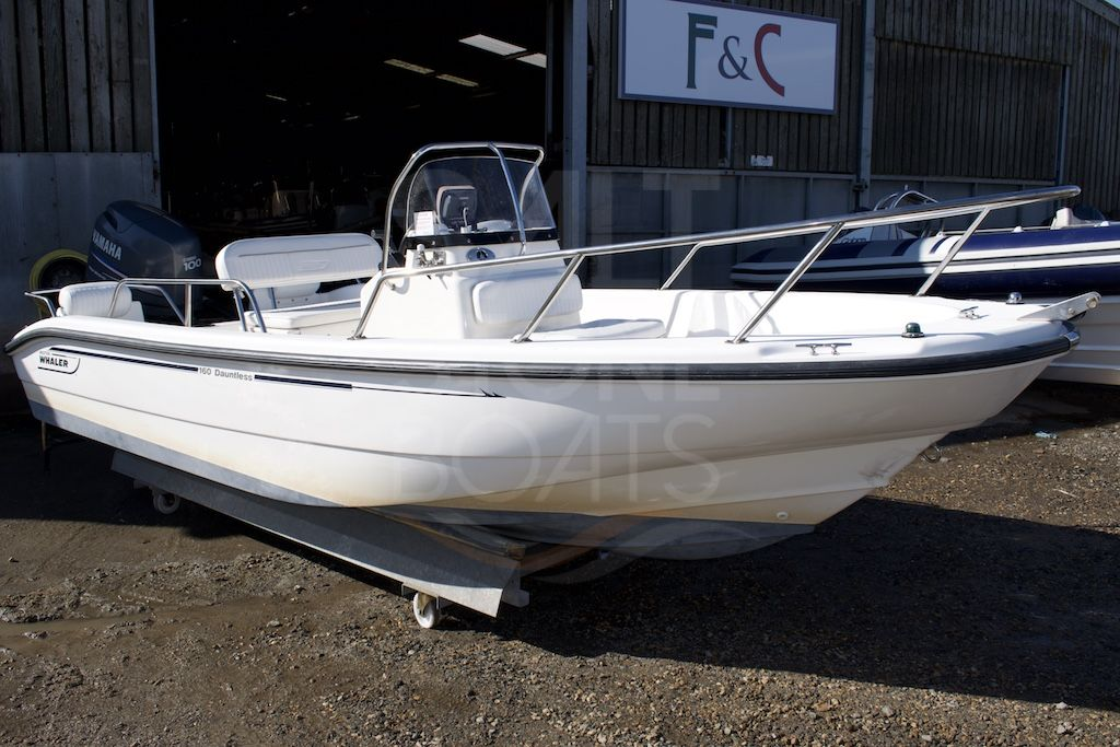 Boston Whaler Dauntless 16 with Yamaha F100 Outboard - SOLD